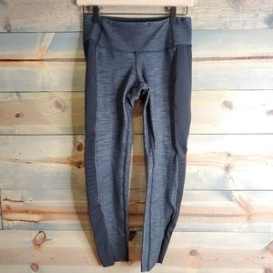 Lululemon womens leggings, black/grey